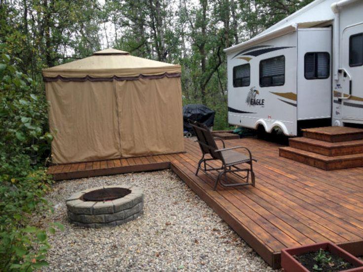 25 Wonderful RV Camping Design Ideas For Summer Vacation – Popular Trends