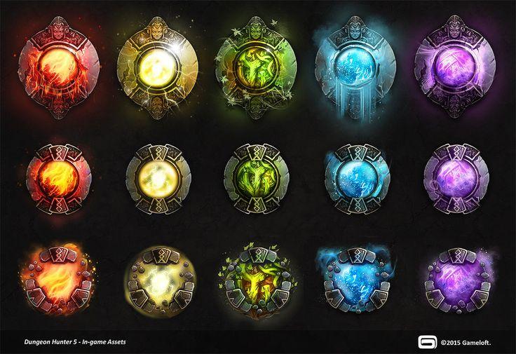 Dungeon Hunter 5 Fusion Boosters by Panperkin.deviantart.com on @DeviantArt