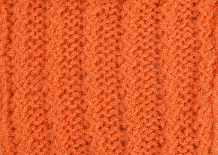 Knitting Rib Stitch For Beginners : Twisted rib stitch knit stitches pinterest simple