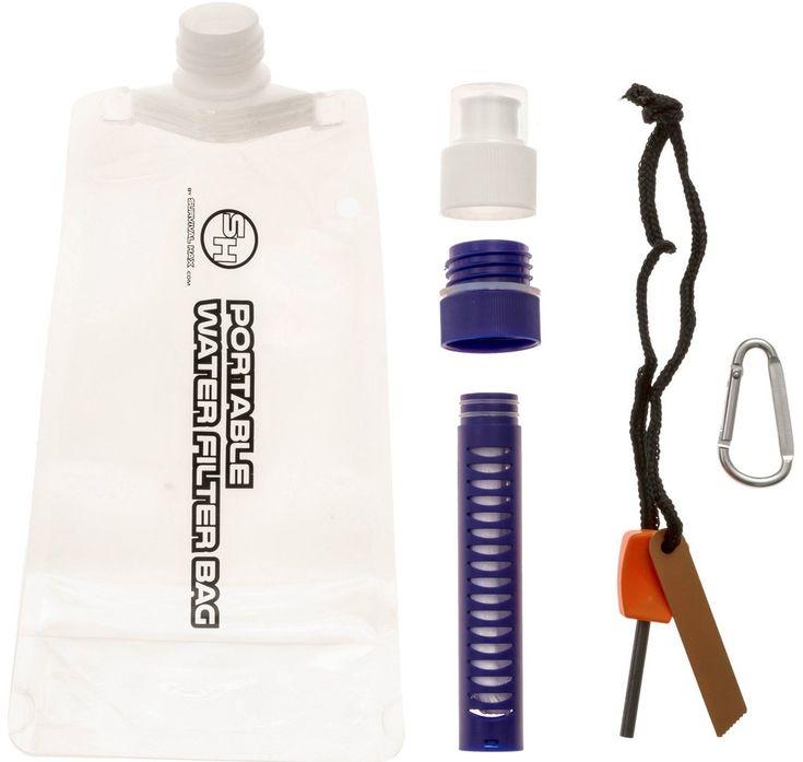 Portable Water Filter Bag
