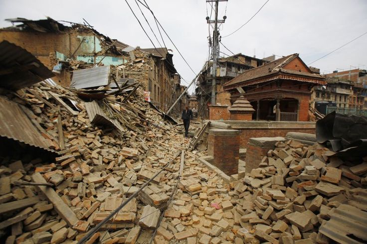 india earthquake 2015 nepal | ... earthquake, in Bhaktapur, Nepal, Sunday, April 26, 2015. (photo credit