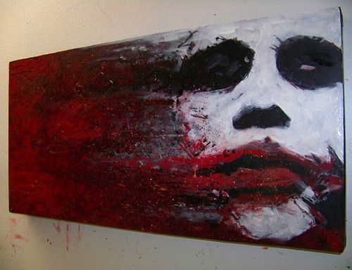 Joker Oil Painting