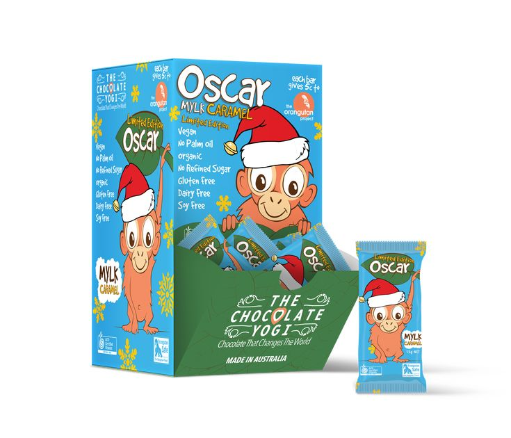 Chocolate Yogi – Oscar Mylk Caramel Bars Giveaway