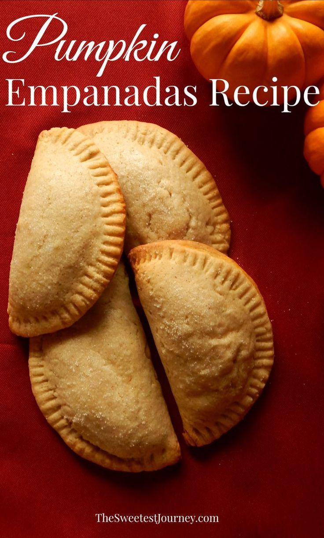Fall Recipes: Pumpkin Empanadas