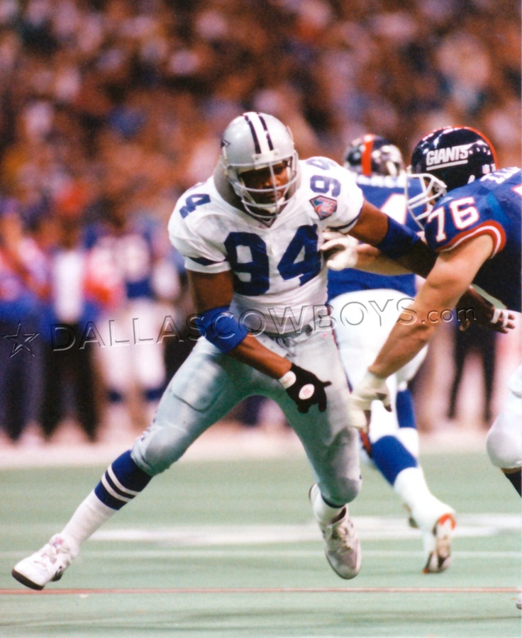 Charles Haley - he came into my office to visit a friend and shook my hand. Biggest hand EVER.