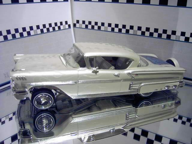 amt 1958 chevy impala lowrider model cars comics hobby. Black Bedroom Furniture Sets. Home Design Ideas