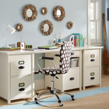 Chatham Large File + Storage Desk + Hutch | Girls Room Deco Ideas | Pinterest | Desk hutch ...