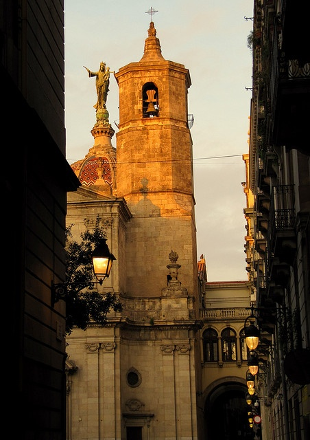"Basilica de la ""Mercé"" Co- Patrona de Barcelona"