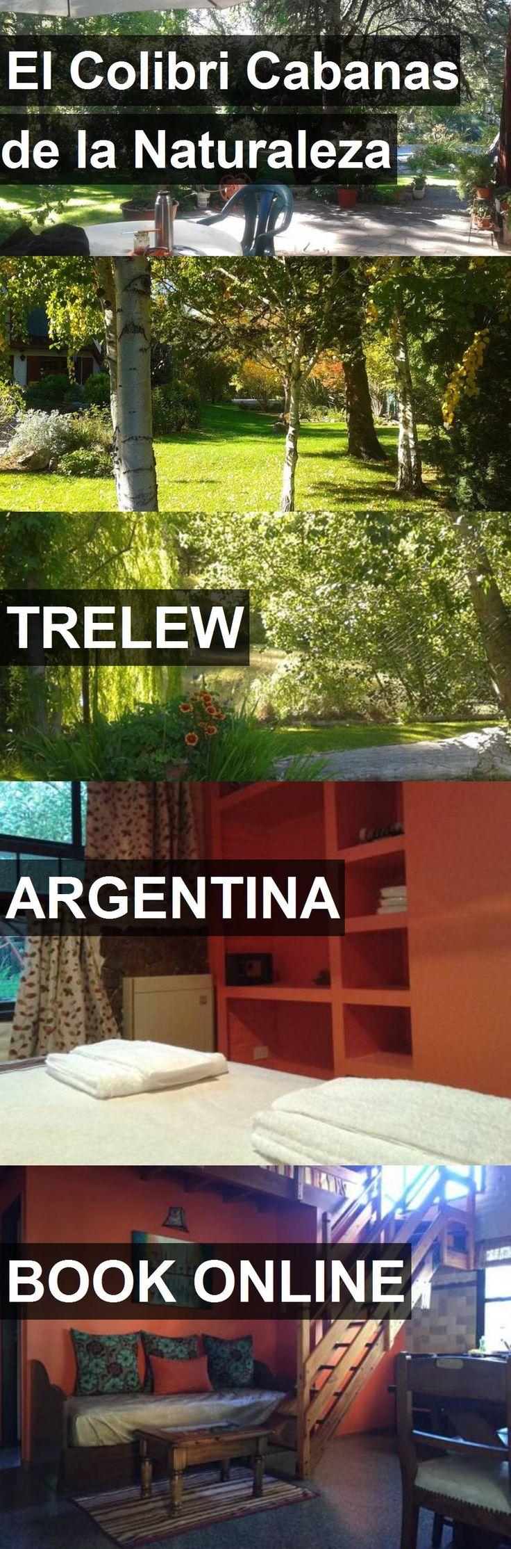 Hotel El Colibri Cabanas de la Naturaleza in Trelew, Argentina. For more information, photos, reviews and best prices please follow the link. #Argentina #Trelew #travel #vacation #hotel