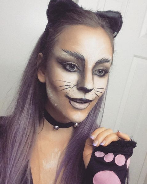 Cat - The Most Hauntingly Gorgeous Halloween Makeup Looks on Instagram - Photos