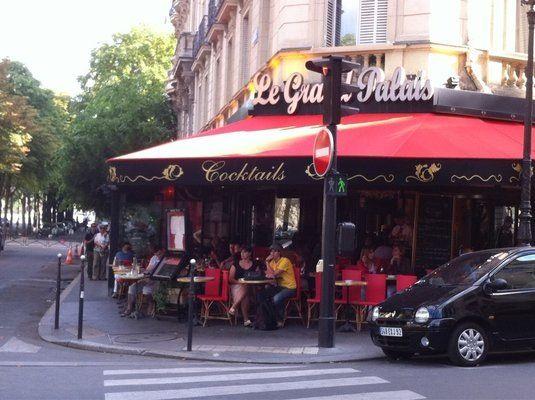 Brasserie Le Grand Palais, París, el mejor cafe