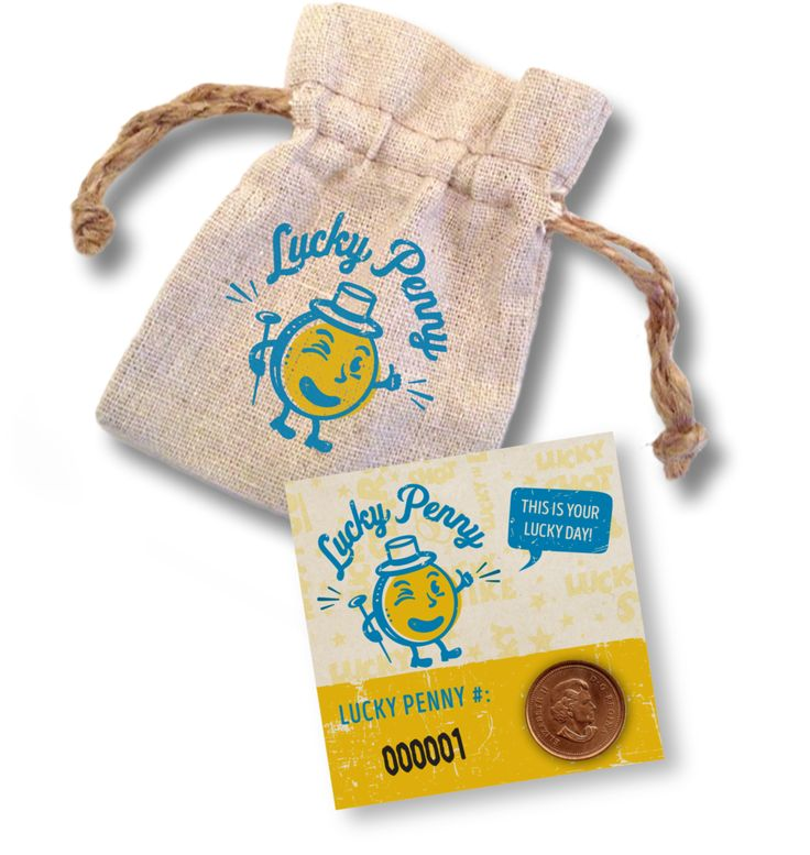 Lucky Penny with Pouch – Lucky Penny Company