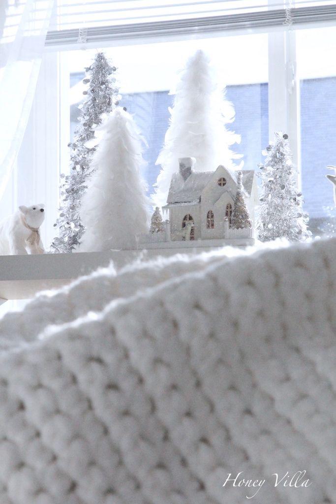 White Christmas Village