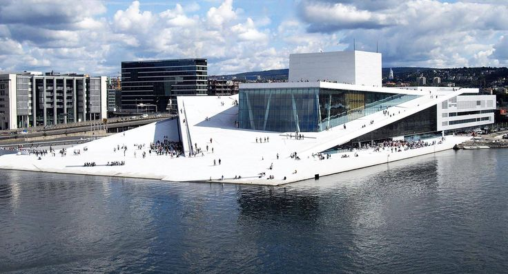 Oslo Opera House, Norway - architects from Snøhetta designed for Oslo a dramatic new opera house that reflects the landscape of Norway and also the aesthetics of its people.