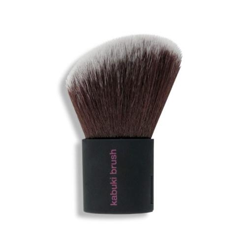 RealTechnique Kabuki Brush Utilice el kabuki 2-en-1 cerrado para el polvo, a continuación, despliegue de barrer en el color de alta definición de los resultados: aspecto de píxel perfecto incluso con alta luz, ultra-lujosas, Taklon cerdas sintéticas son cortados a mano y 100% libre de crueldad animal, autónomo para un fácil almacenamiento.