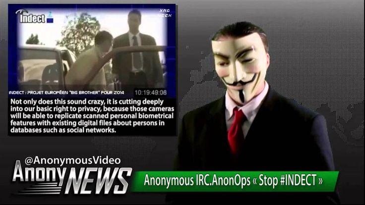 Anonymous Stop Indect (Audio Español)