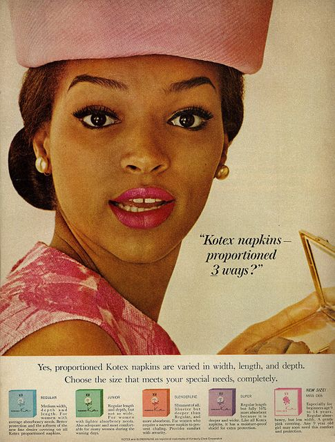 1964 Kotex Sanitary Napkins