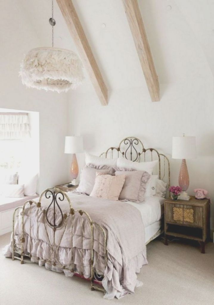 Shabby Chic Vintage Schlafzimmer Ideen Mobilier Maison