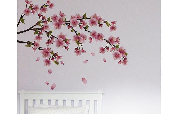 Peach Blossom Decal