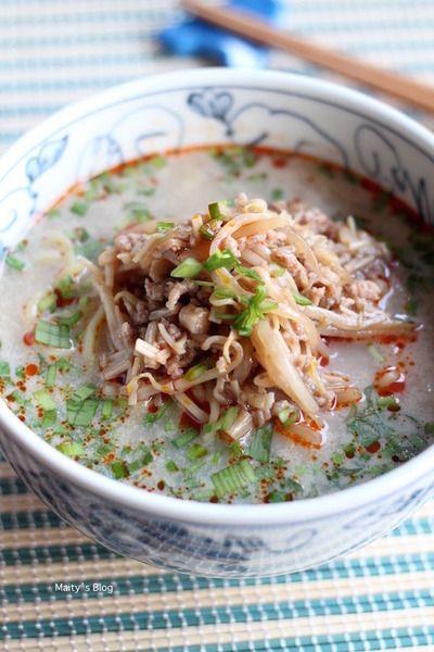 エノキともやしの肉味噌ラーメン by マイティさん   レシピブログ ...