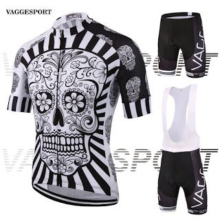 2017 skeleton new mens cycling wear jersey/brand UV protection team cycling clothing/fitness mountain road bike clothing set (32753677222)  SEE MORE  #SuperDeals