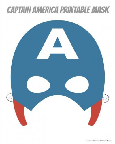 Monster image intended for captain america mask printable
