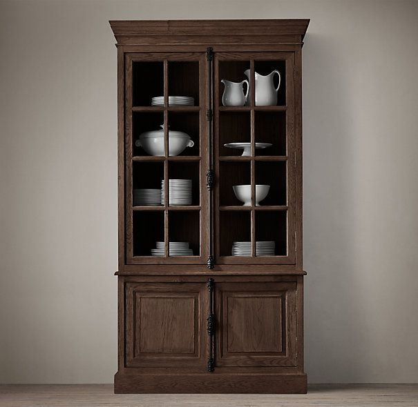 1000 images about shelving and storage on pinterest - Restoration hardware cabinets ...