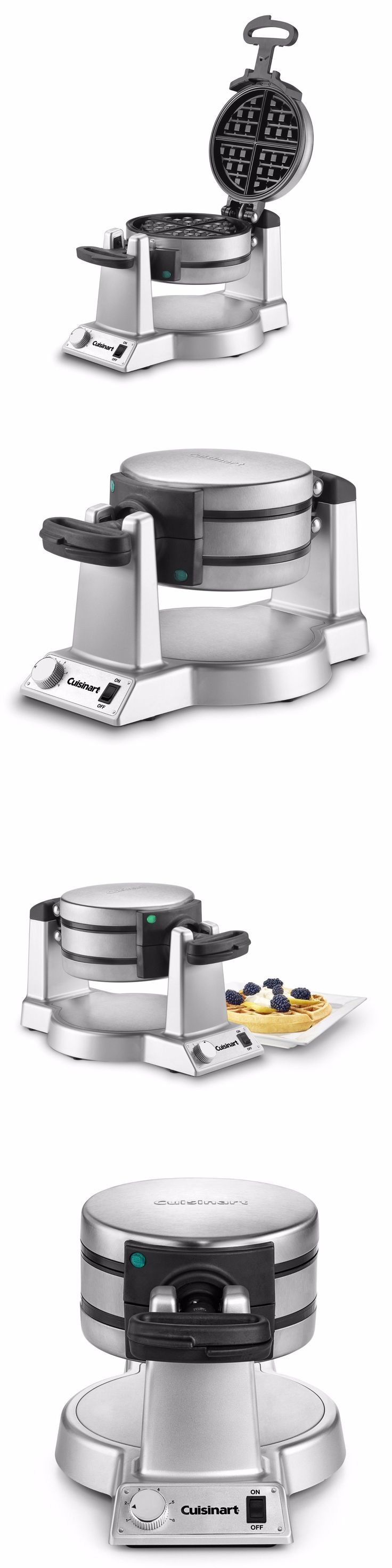 Waffle Makers 168763: Double Belgian Waffle Maker Commercial Waring Pro Iron Gourmet Baker Breakfast -> BUY IT NOW ONLY: $115.95 on eBay!