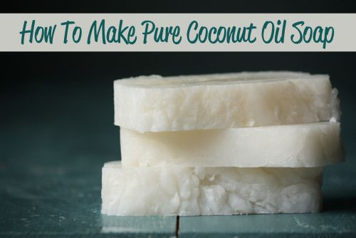 How To Make Pure Coconut Oil Soap...http://homestead-and-survival.com/how-to-make-pure-coconut-oil-soap/