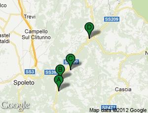 Tour della Vecchia Ferrovia Spoleto Norcia 2012 - 7ma edizione, 7 Ottobre 2012 | Bella Umbria