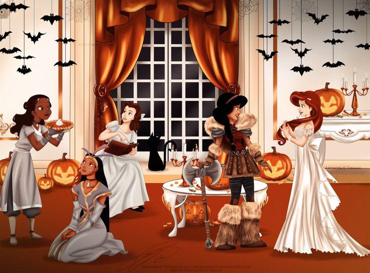 DP - partido de Halloween por selinmarsou