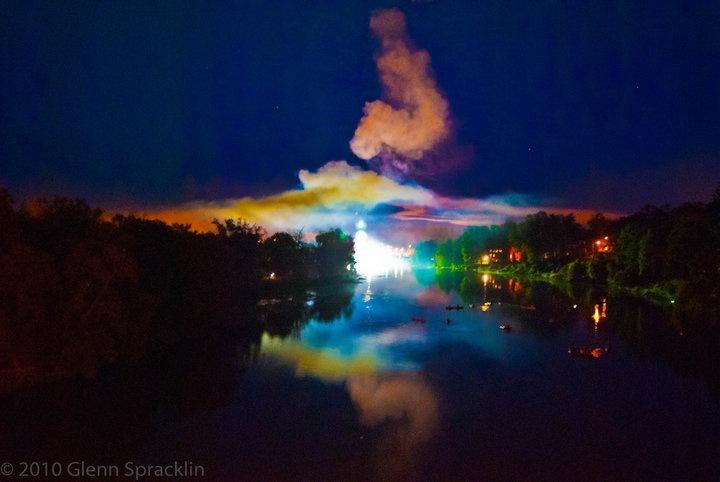 St.Marys Fireworks - Heritage Festival