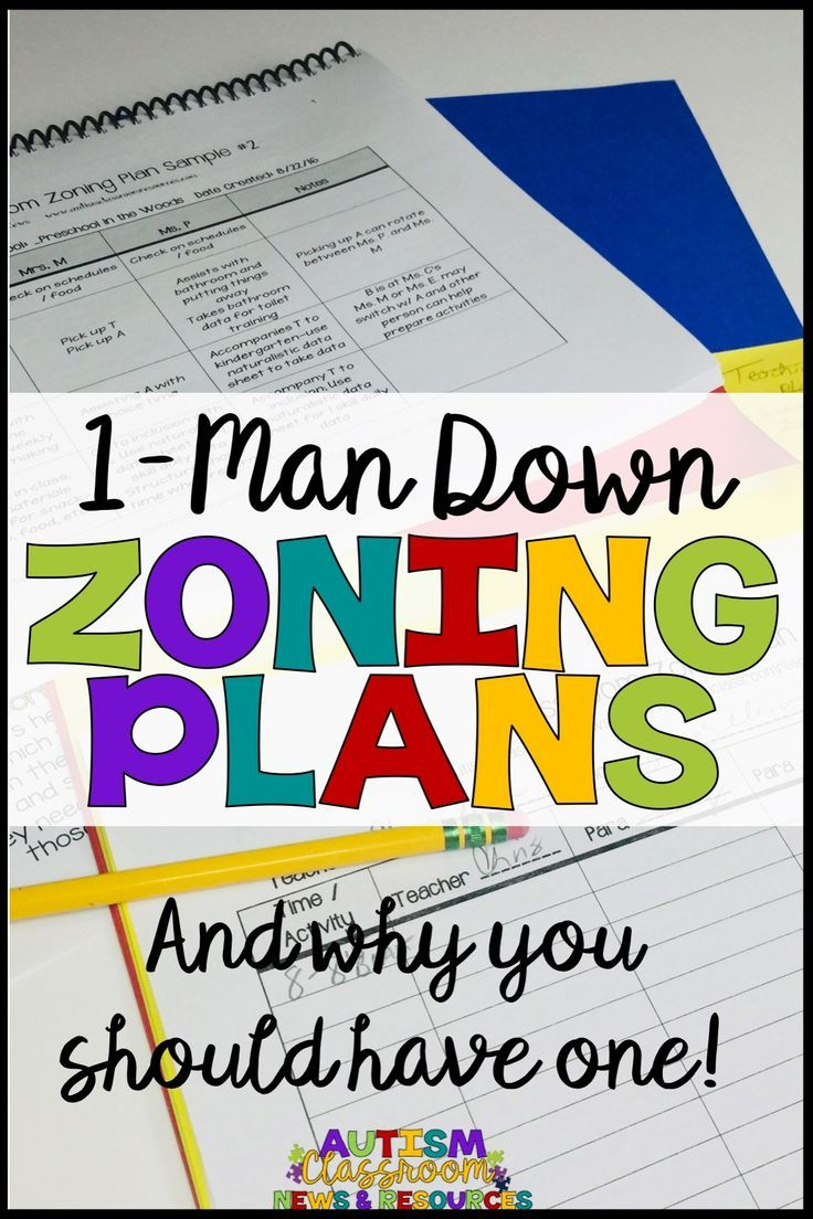 Why Does Special Education Have To Be >> 1 Man Down Zoning Plans And Why You Need One Autism