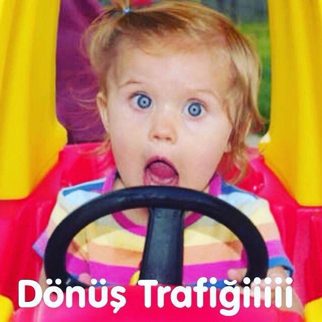 İyi bayramlar, iyi yolculuklar :) #bayram #donus #yol #trafik #komik #bebek