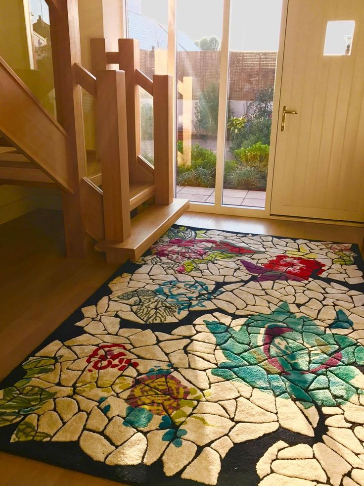 Cara Murphy: U0027My Beautiful Christian Lacroix Rug At Its New Home In Jersey.