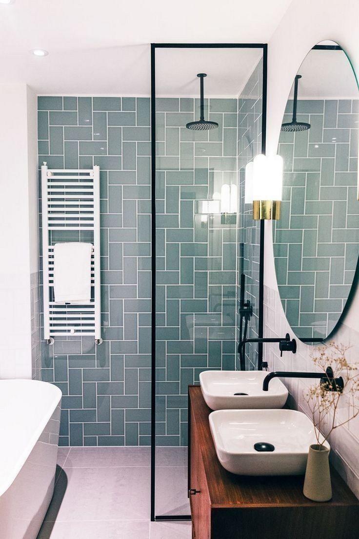 24 Small Bathroom Design Trends 2019