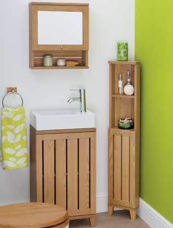Corner Bathroom Storage