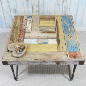 Whale Wharf Side Table   Driftwood Table