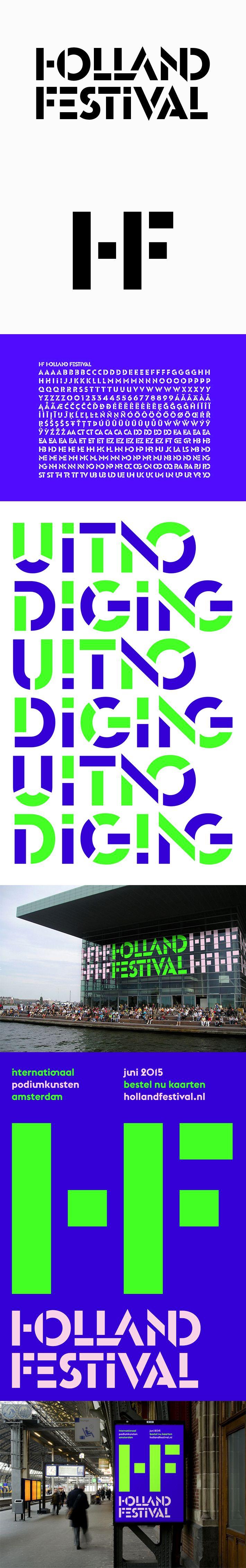 Thonik – Branding for Holland Festival 2015