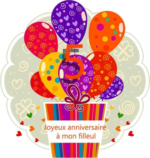 actualit 5 ans de mon filleul joyeux anniversaire maman pipelette
