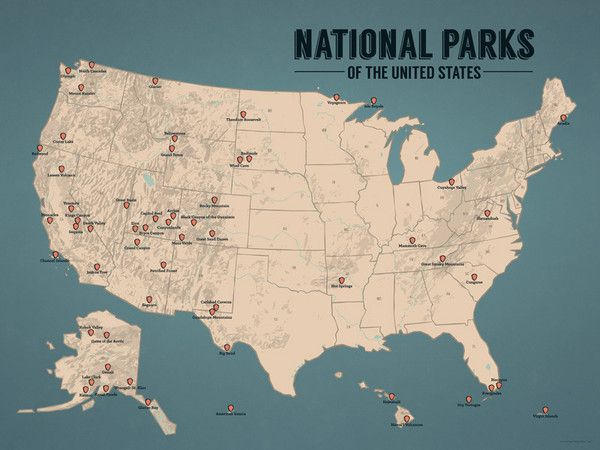 Get Us National Parks Map Ideas On Pinterest Without Signing - Best us parks to visit map