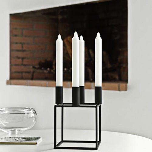 Kubus candle holder.