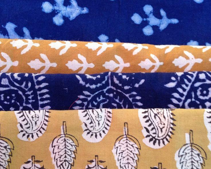 Fabrics from India (from Etsy)