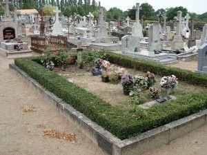 cimetière, concession
