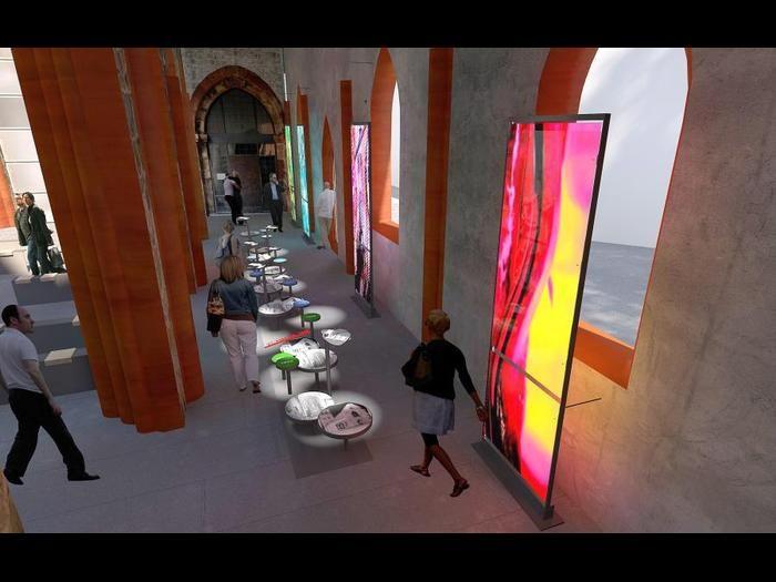 Farbe und Licht sind wichtige Elemente bei der Neugestaltung von St. Christoph. <br /> Foto: Leisureworkgroup