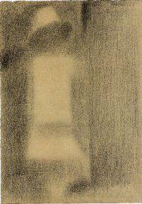 Etude pour un Dimanche à la Grande Jatte (dit L'Enfant blanc), 1884 Crayon conté - 30,5 x 23,5 cm New York, Solomon R. Guggenheim Museum...