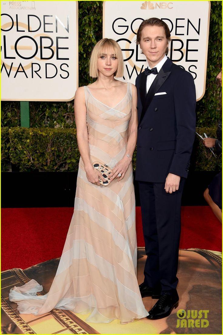 Paul Dano's Golden Globes 2016 Date is Girlfriend Zoe Kazan!   paul dano zoe kazan golden globes 2016 05 - Photo