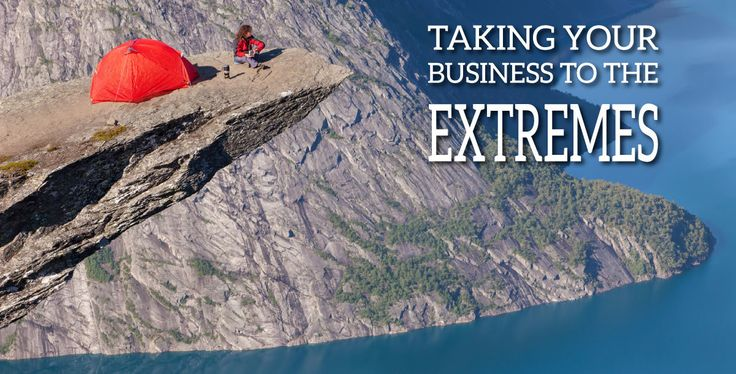 Why taking your #business to the brink of extreme is great http://mebsites.com/blog/living-at-the-edges-of-extreme-for-business-success/