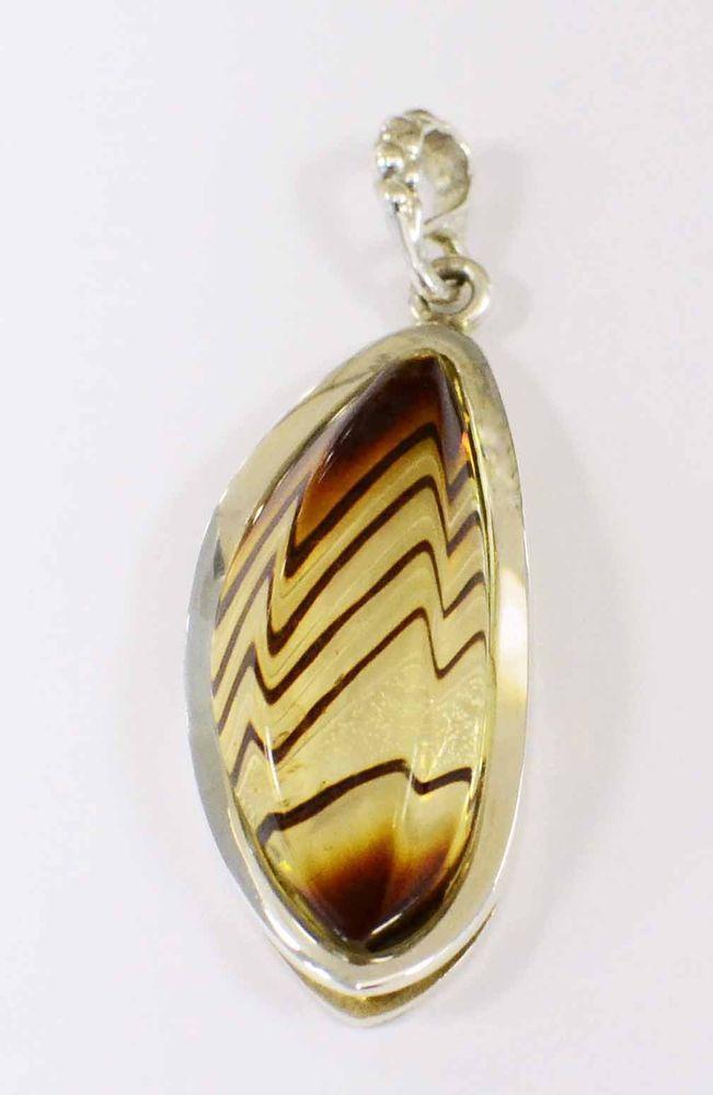 875fe61ae Hand carved modern design Baltic AMBER + sterling silver handmade pendant  NEW #Handmade #Pendant