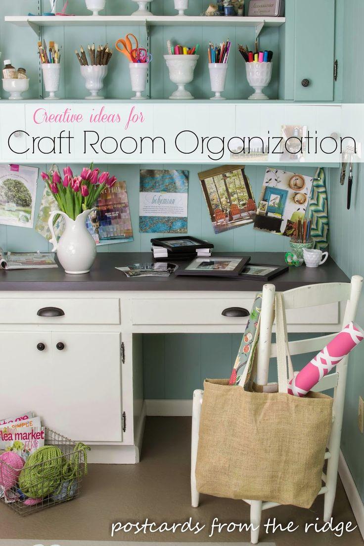 Creative Ideas for Organizing Craft Supplies